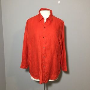 Lauren Ralph Lauren Button Down Shirt Size XL